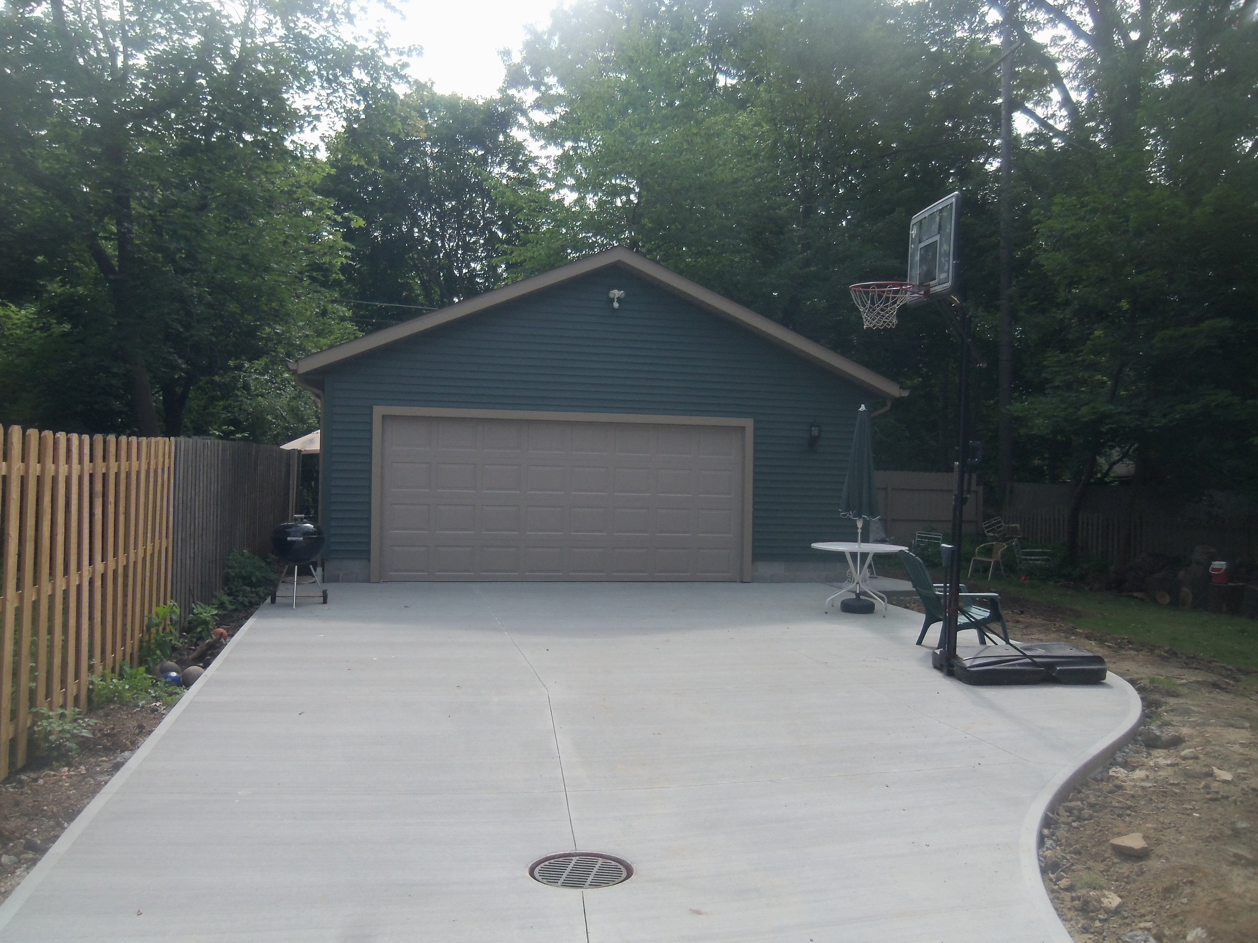new stand-alone garage